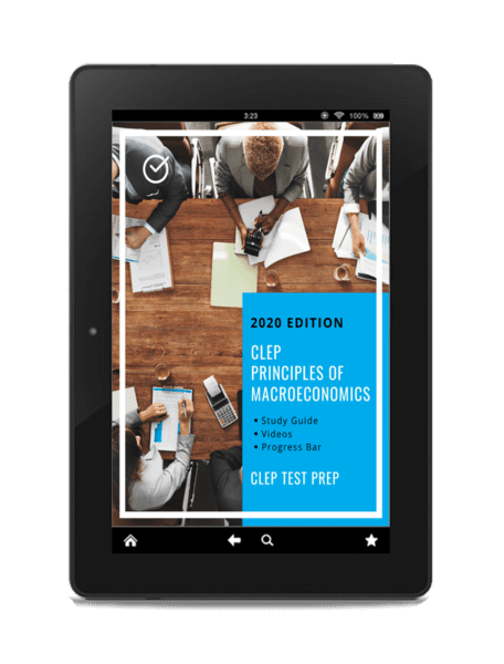 Principles of Macroeconomics CLEP exam test prep